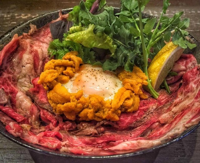 【銀座】短角牛ローストビーフ×濃厚ウニ!とろける味わいの丼は必食!『TABI✕DINING ROUTE ZERO』