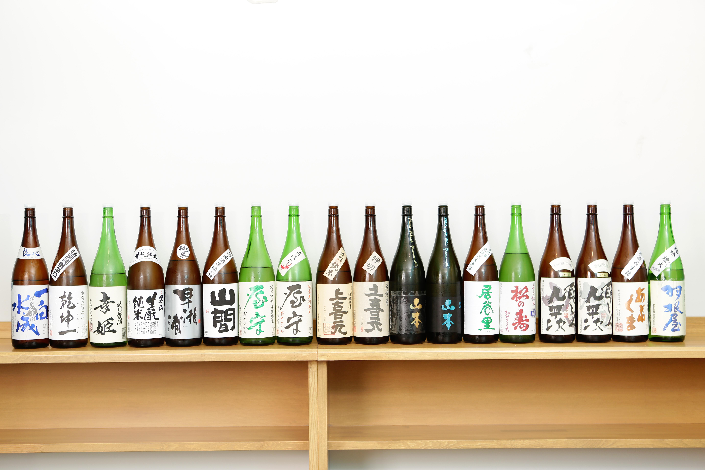 日本酒好き五反田に集まれ!利き酒し放題など日本酒を堪能できる店4店@五反田