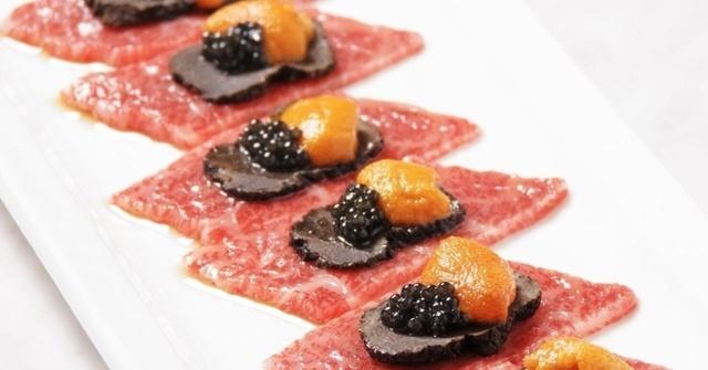 黒毛和牛の生肉に雲丹とトリュフ、キャビアまで!恵比寿でワンランク上の焼肉なら『秀苑 翔』