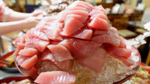 1300円でお刺身食べ放題!浅草橋『たいこ茶屋』の超デカ盛り海鮮ランチがお得すぎ!
