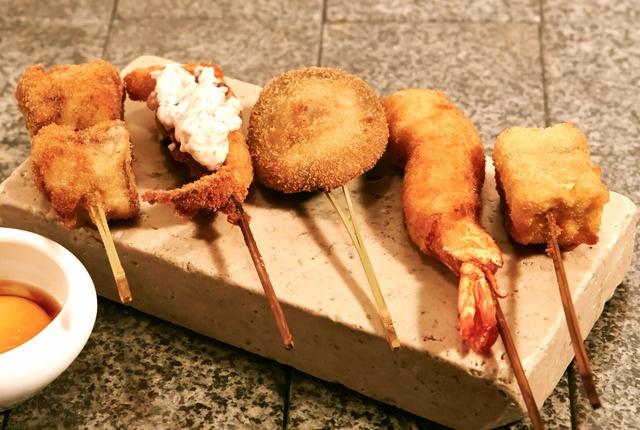 【練馬】30種以上の旬食材を串揚げで!「極太アスパラチーズ」は必食!『ネリマノたく庵』