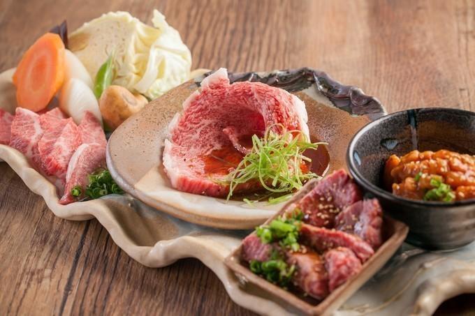 【なんば】すき焼きカルビや炙りローストビーフも食べられる焼肉屋『なんば千日前 焼肉処 又来家』