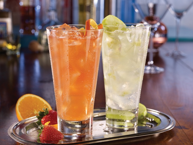 Retina barbados rum punch   hendricks cooler