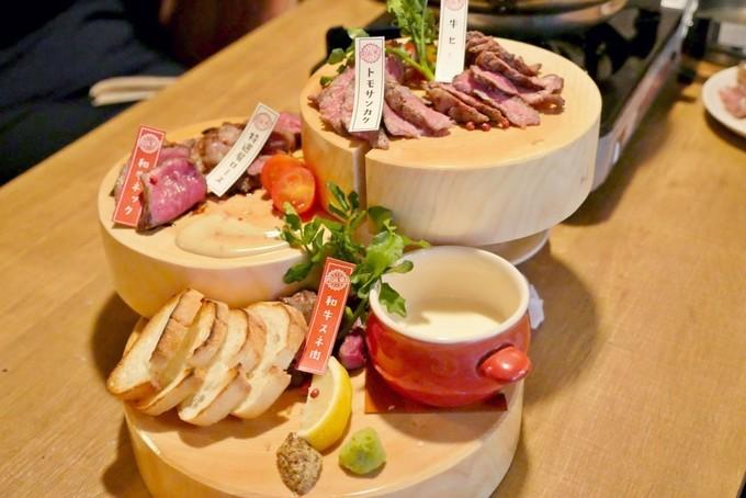 肉450gが入った豪快激辛鍋にステーキまで!肉もお酒もがっつり堪能!新宿『肉バルGABURI』