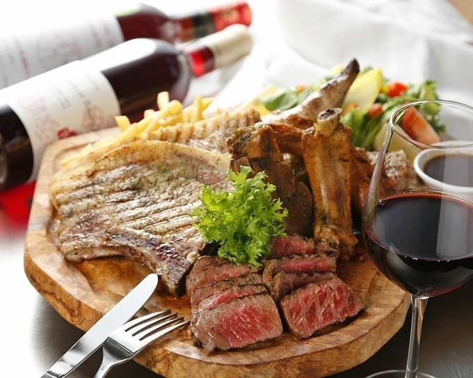 【蒲田】700g超えの肉盛りに食らいつけ!豪快肉料理や和食材を使ったイタリアンを堪能『和バルGin』