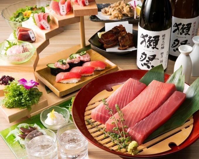 【上野】マグロにイクラ、中トロもおかわり自由!『マグロ婆娑羅』で食べ放題イベントスタート!