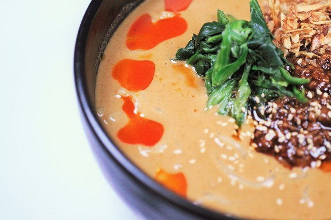 【吉祥寺】まさに麺のオールラウンダー!つけ麺に担々麺、酸辣湯麺も選べてみんな満足!『めん家福みみ堂』