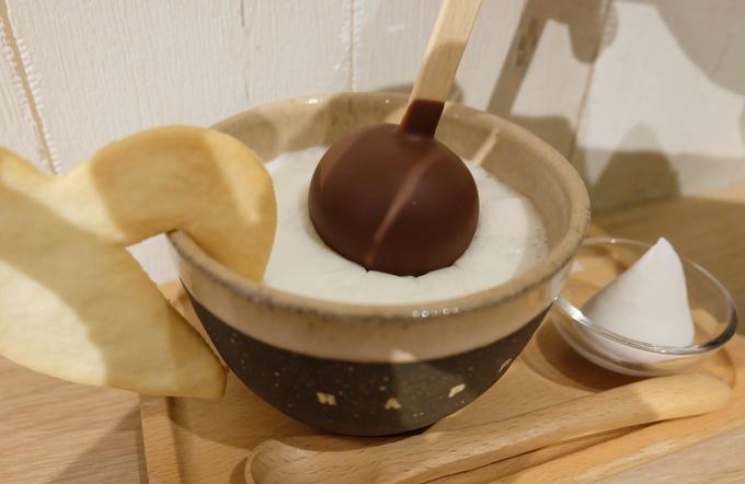 ミルク チョコレート ホット