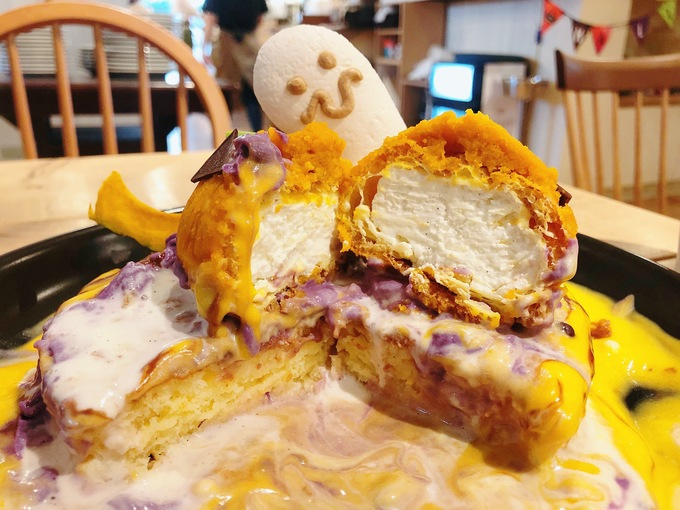【10/31まで】今しか食べられない!恵比寿『アクイーユ』に可愛い「ハロウィンパンケーキ」が登場