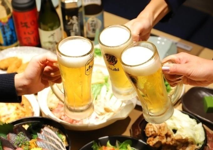 【柏西口】8人ごとに1人分無料!最大10万円が当たるチャンスもある『薩摩魚鮮水産』で忘年会しよう