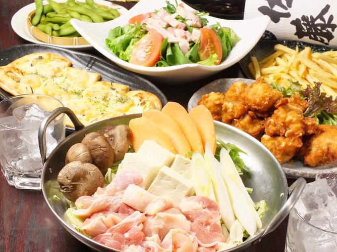 【馬橋】8人毎に1人分無料!忘年会は刺身盛り&肉たっぷりのちゃんこ鍋の豪華コースで!『はなの舞』