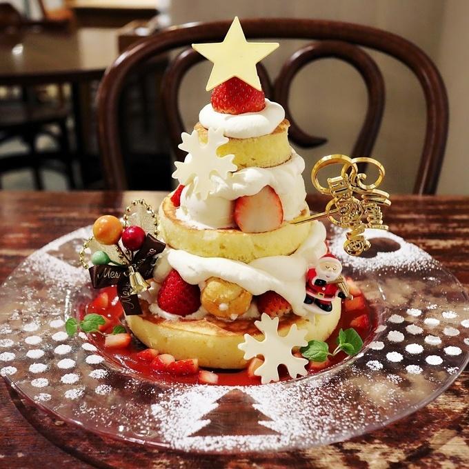 【恵比寿・横浜】X'mas感たっぷり『アクイーユ』の限定パンケーキで今年の食べ納めを!