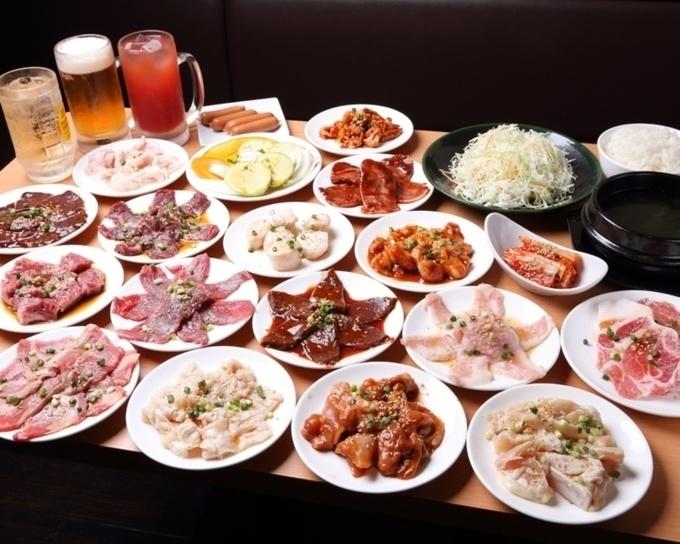 全55品の焼肉食べ放題コースが驚きの価格で!新宿でオトクに焼肉食べ放題なら『鉄人』