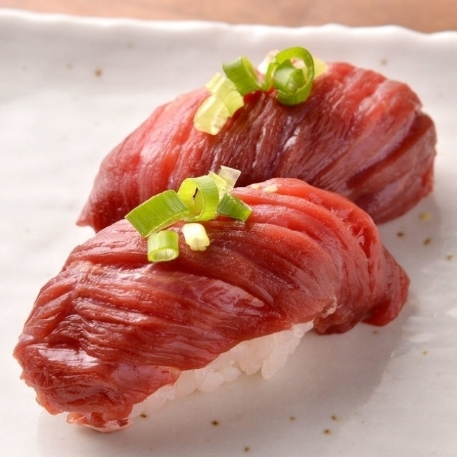 ついに上野に肉寿司が初進出!生ビール1杯190円キャンペーン実施中『上野 肉寿司』