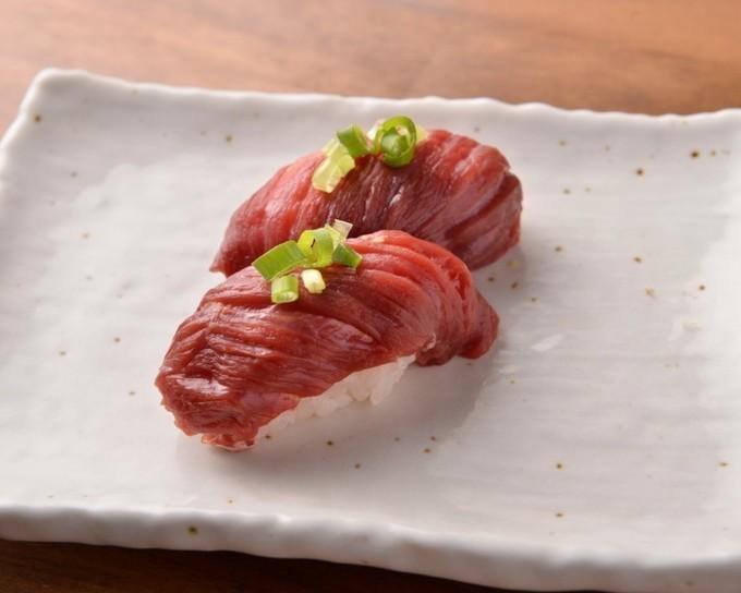 肉(29)の日限定『上野肉寿司』で9種の肉寿司が1,980円で食べ放題