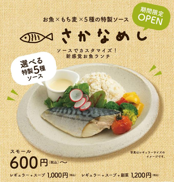 【いよいよ3/15まで】魚2種×ソース2種で美味しさ4倍!? 銀座の本格こだわりランチ『さかなめし』に「2種盛り」が登場