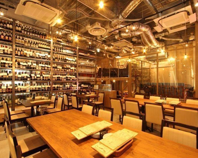 【銀座】ワイン好き必見!500種類のボトルからお好きな一本を!『銀座でワイン。』