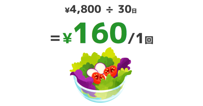 """【先着100名限定】月額4,800円で毎日サラダが""""無料""""になるサラダ会員を募集!『re:Dine GINZA』"""
