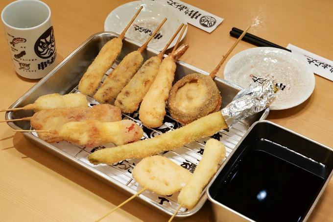 串カツメニューは全45種!神田で串カツざんまいするなら『串かつあらた神田店』
