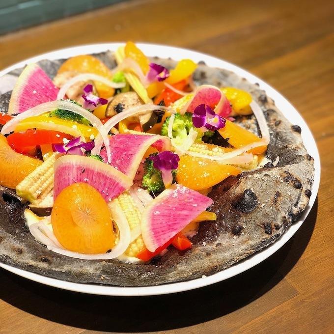 【都島】野菜たっぷりピッツァにパワーサラダも!健康的にランチするなら『PIZZA FORTUNA』