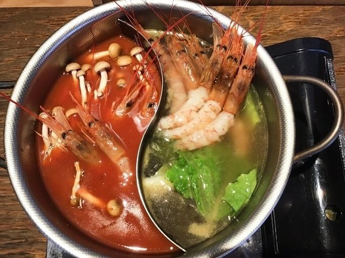 【恵比寿】約1kgの海老をしゃぶしゃぶで!食べても食べても海老づくしの海鮮料理店『かいり』
