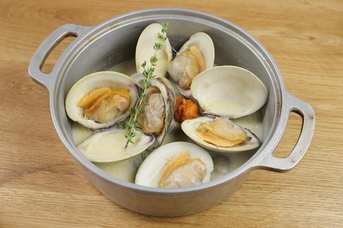 ホンビノス 貝 料理