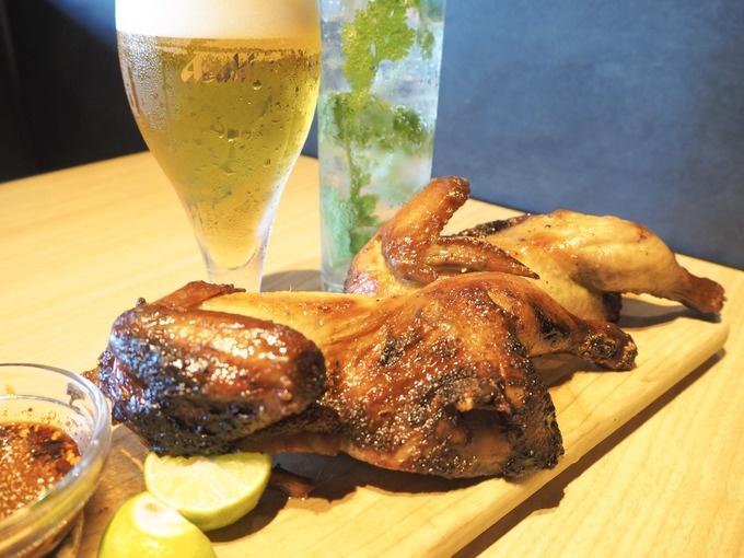 【博多】超豪快な鶏の丸焼きはビールが進む!辛くて旨いタイ料理とお酒を『マンゴツリービストロ』で