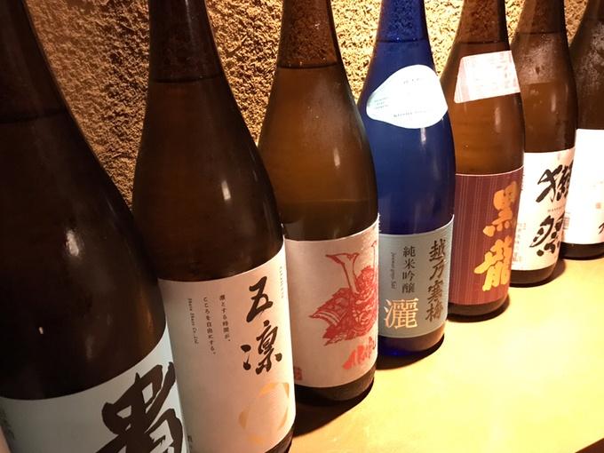 【15日まで】811円で日本酒15種が時間無制限で飲み放題!丸の内の『旬彩庵』