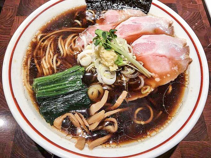 豚×醤油×生姜がDNAレベルで美味い『長岡生姜醤油ラーメン』、東京都内ならこの2店で