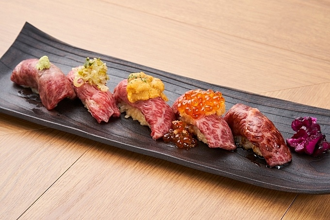 鳥取和牛を握り、すき焼き、ひつまぶしで!半蔵門で肉割烹なら『ブレインストーミング』