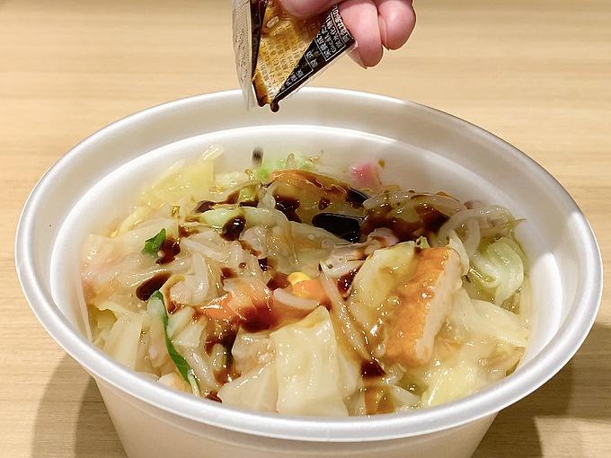 ソース 皿 うどん